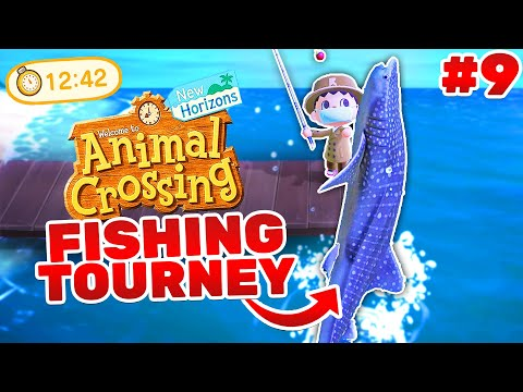 Animal Crossing FISHING Tournament! (Playthrough #9)