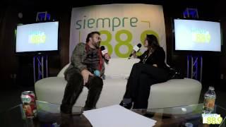 Mijares en entrevista con Sofía Sánchez para Siempre 88 9 parte 4