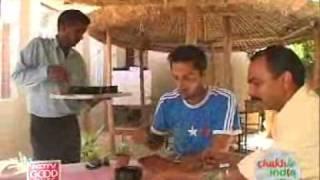 Savouring vegetarian kebabs in Lucknow