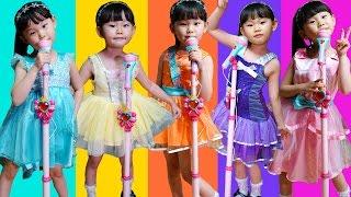 시크릿쥬쥬 어린이 드레스 변신 코스튬 콘서트 장난감 동요 놀이 LimeTube & Toy 라임튜브