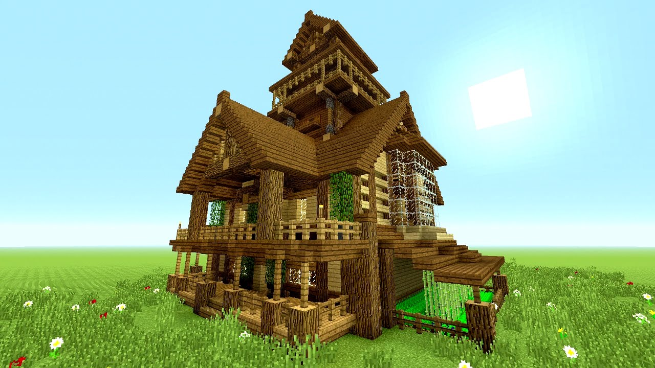 Minecraft Tutorial EPIC Survival House Tutorial  How to