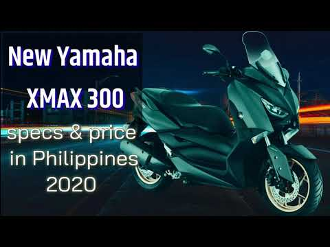New Yamaha XMAX 300 / Specs and price in the Philippines