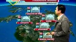 24oras: GMA weather update (July 13, 2012)