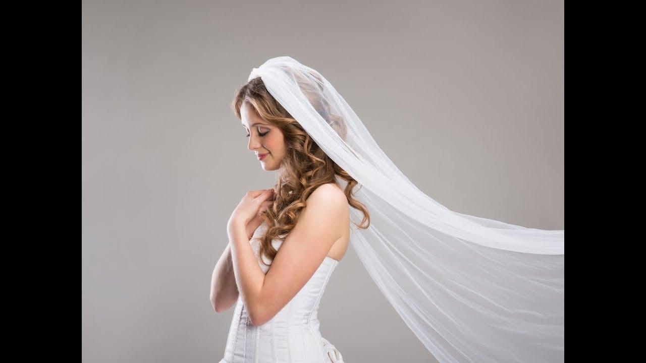 53d8530fa21ff طرحة العروس سر جمالها وأناقتها - YouTube
