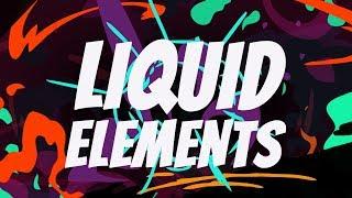 Flüssige Elemente in After Effects - After Effects-Tutorial - [AEJuice Abgeben 2019]