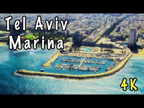 Tel Aviv Marina from Xiaomi Mi 4K Drone