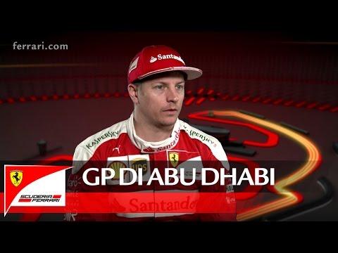 Il GP di Abu Dhabi con Kimi Raikkonen - Scuderia Ferrari 2016