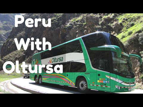 1st Class Bus Travel in Peru: Lima to Arequipa