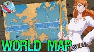 WORLD MAP + Elbaf & Loadstar Location!! Geography Is Everything - One Piece Discussion | Tekking101