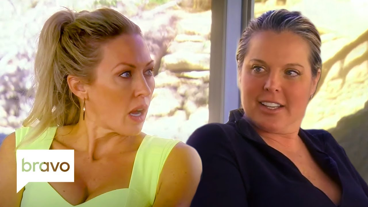 The Ladies Ask Elizabeth Lyn Vargas to Stop Talking About Money | RHOC Highlights (S15 Ep8)