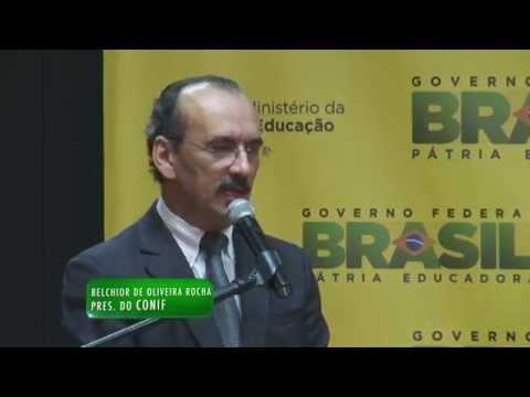 Reitor do IFRN, Belchior Rocha, assume presidência do Conif