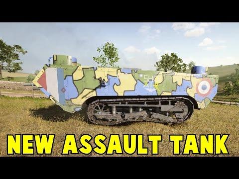 New Assault Tank They Shall Not Pass DLC Battlefield 1