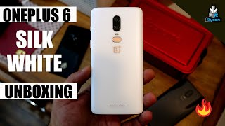 OnePlus 6 Silk White Unboxing and First Look - iGyaan