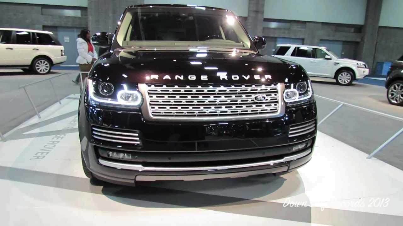 2013 Range Rover Supercharged Autobiography On Display