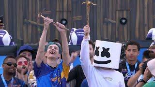 Dr Lupo Prevents Suicide, Ninja and Marshmello win E3 Pro Am fortnite 2018