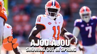 Clemson WR Ajou Ajou: Showing Out In Spring