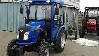 Купить Мини-трактор Dongfeng-244C (Донгфенг-244К) с обновленной кабиной minitrak.com.ua