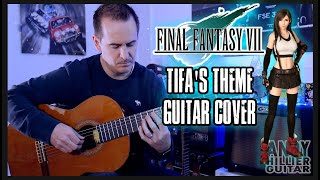 Final Fantasy 7 Remake - Tifa's Theme Guitar Cover by Andy Hillier