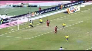 هدف النصر الثاني ضد الاتفاق في الجولة التاسعة من دوري عبداللطيف جميل