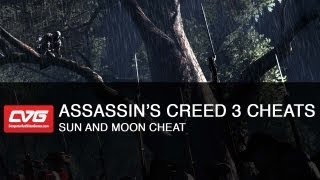 Assassins Creed 3 Cheats - Sun and Moon