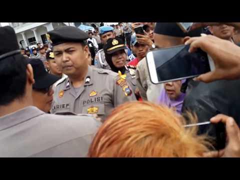 Kepala PJKA Drive II Dikejar oleh Warga Penghuni Eks Stasiun Bukittinggi