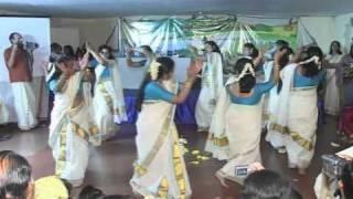 Thiruvathira - Kaithapoo manamulla - Choreographed by Sindhu Prasad - Aristocrat Onam 2009