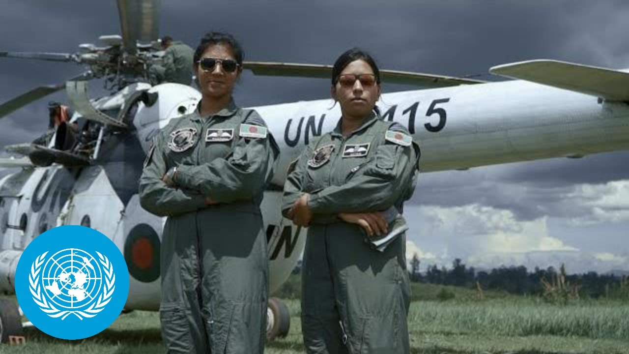 DRC: Bangladeshi Female Pilots Flying Forward