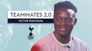 """DELE ALLI, STOP BEING NAUGHTY!"" | Victor Wanyama | Tottenham Teammates 2.0"