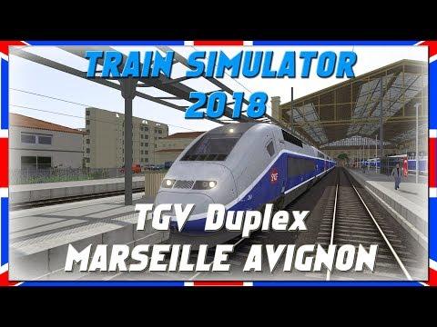 TGV Duplex | MARSEILLE AVIGNON | DLC | Train Simulator 2018 [Deutsch|HD]