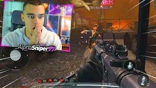ASÍ ES EL MODO ZOMBIES de Call Of Duty MOBILE *NUEVO COD GRATIS* - AlphaSniper97