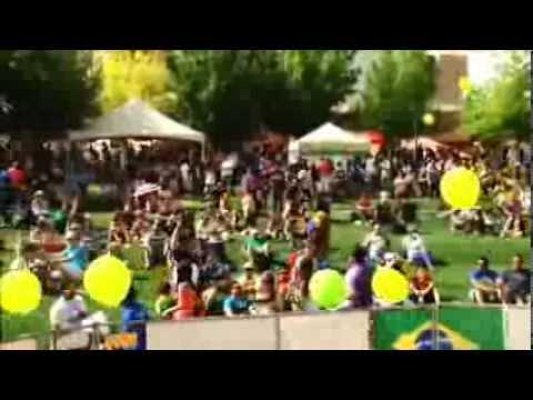 Neise Cordeiro Video-Host at Vegas Loves Brazil Festival 2013