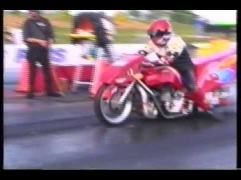 Motorcycle Drag Racing 2002 Prostar Springnationals Richmond Funny
