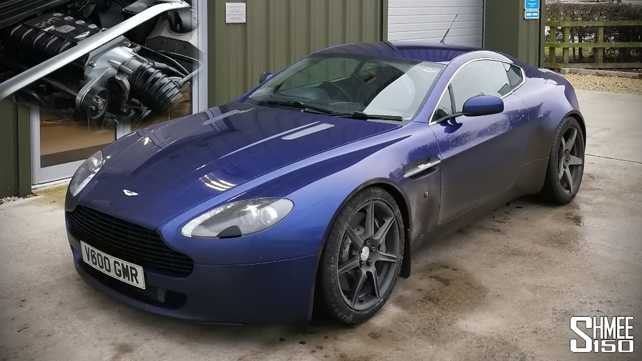 Is A V8 Vantage Better With A Supercharger Youtube