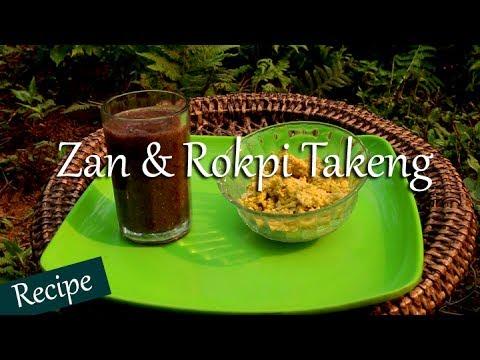Zan & Rokpi Takeng | Millet Porridge & Egg Chutney | Monpa Recipe