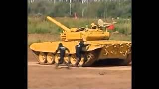 Tanques de las FFAA de Rusia, Armenia, Bielorrusia y Kazajstán