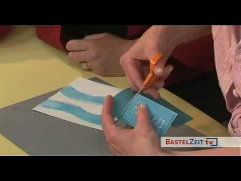 Bastelzeit Tv 7 Teil 1 Maritime Einladung Selbst Gemacht Youtube