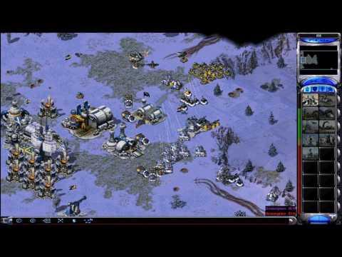 Red Alert 2: Yuri's Revenge - 1 vs. 7 Brutal AIs (France vs. Random on Russian Roulette)