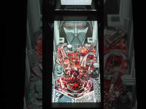 Star Wars Arcade1up Pinball Darth Vader fail from scarfwaverly