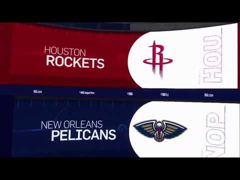 Houston Rockets vs New Orleans Pelicans Game Recap | 12/29/18 | NBA