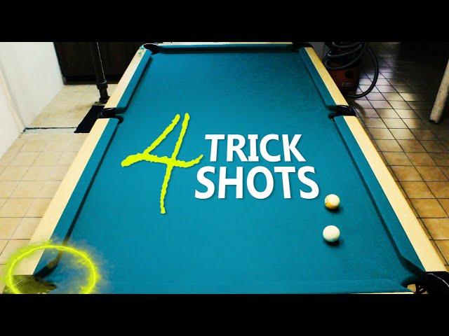 4 Pool Trick Shots: Volume 22