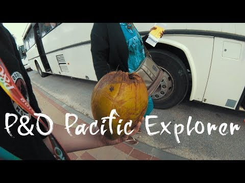 P&O Pacific Explorer Cruise Video  Sam Murphy