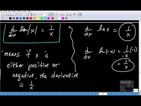 Calculus 30 8.4 Natural Logarithm, b^x Derivatives