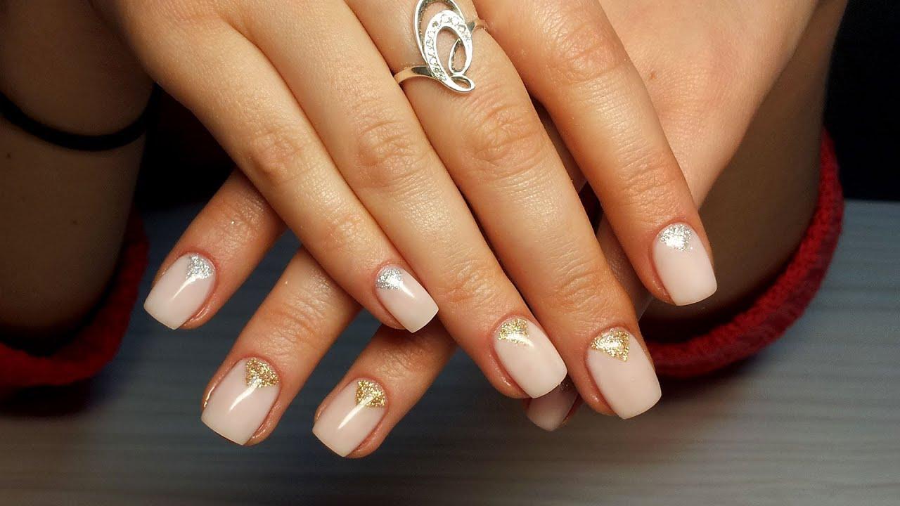 Наращивание ногтей гелем и дизайн для начинающих