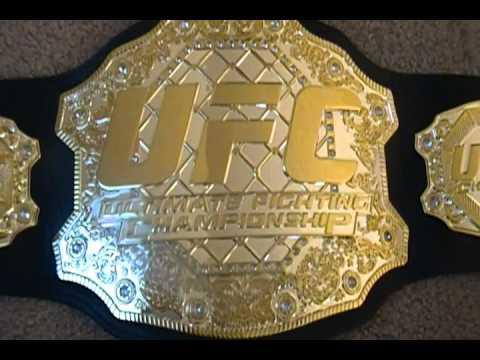 Ufc Pro Grade Replica Wrestling Belt Youtube