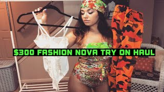 $300 Fashion Nova Try On Haul | Katelyn Rodriguez