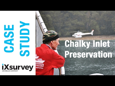Chalky Inlet Preservation Project // IXBLUE Case Study // New Zealand