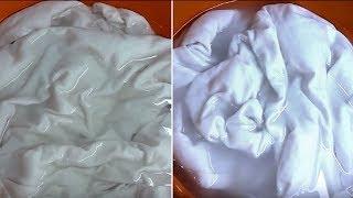 Аспирин или ацетилсалициловая кислота для отбеливания и стирки белья.