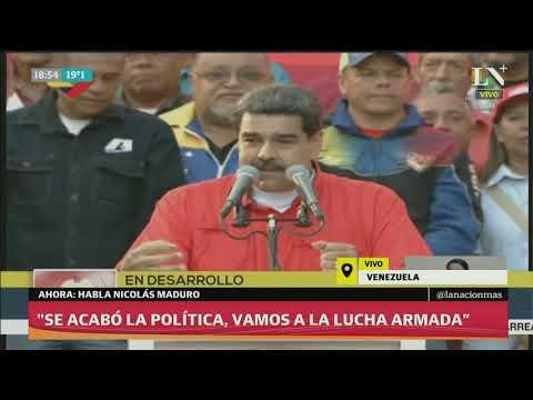 Habló Nicolás Maduro tras los violentos enfrentamientos en Venezuela - Discurso completo