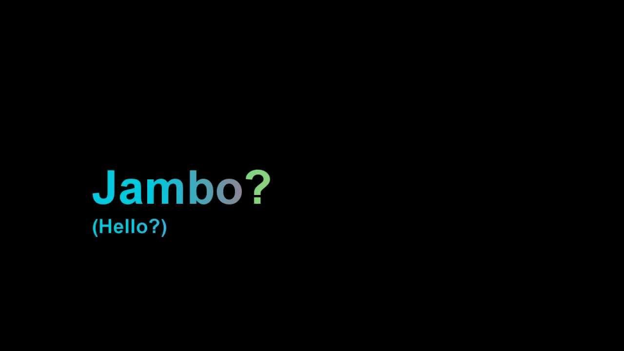 Swahili greetings youtube m4hsunfo Choice Image