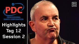 Phil Taylor on fire, Gary Anderson mit Mühe | Highlights | PDC Darts WM 2018 | DAZN